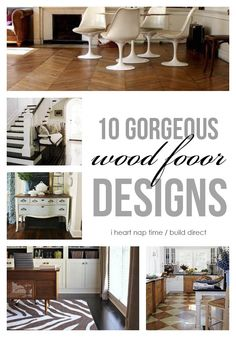 10 gorgeous wood floor designs I Heart Nap Time | I Heart Nap Time - How to Crafts, Tutorials, DIY, Homemaker