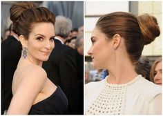 High bun trend from the 2012 Oscars   Being Spiffy