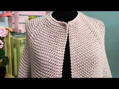 Kiro By Kim Bomber Handknitted Cardigan - Diy Crafts - Marecipe Knitted Baby Cardigan, Knitted Coat, Crochet Jacket, Crochet Shawl, Knit Crochet, Knitting Videos, Crochet Videos, Knitting Patterns Free, Free Knitting