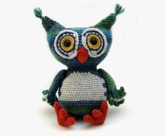 Owen The Owl Amigurumi Pattern