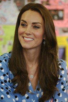 Kate Middleton Photos Photos - Catherine, Duchess of Cambridge during a visit…