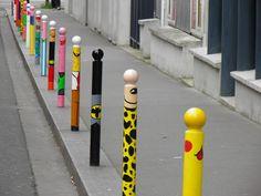 Rue René Goscinny (13ème arrondissement) Street art