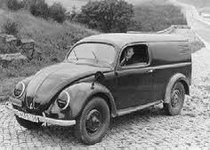 KdF-Wagen als Kombi, etwa 1939.