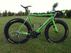 Peter Sagan's green Cannondale SuperSix Evo