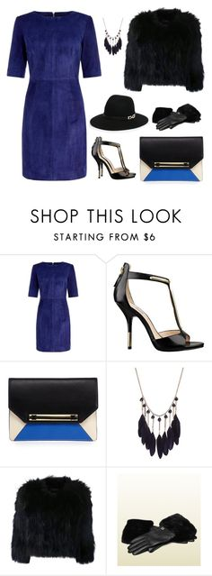 """Untitled #900"" by proudoftomorrowland ❤ liked on Polyvore featuring MuuBaa, GUESS, H Brand and Gucci"