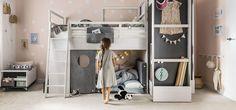 Nest van Vox, kinderkamerreeks met tal van mogelijkheden! De Boomhut