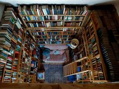 The contemporary passionate reader's nook...