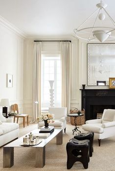 a-list-interior-designers Living Room Colors, Living Room Designs, Living Room Decor, Living Rooms, Top Interior Designers, Living Room Lighting, Room Accessories, Elle Decor, Living Room Inspiration
