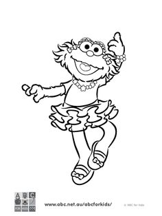 1000 images about ColoringSesame Street on Pinterest