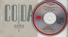 LED ZEPPELIN Coda (CD 1982) 1980s Original Barry Diament Mastering FREE SHIPPING #HardRock