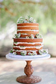 Hochzeitstorten Naked Cake Torten Mit Blumen