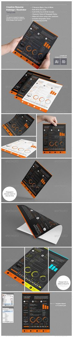 19 best Work and Resume Templates images on Pinterest Cv template