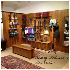 Country footwear and accessories on display in the Dubarry Flagship Store  on College Green e0f883ac6d3a