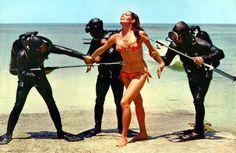 Bond Girls in Bikinis: Claudine Auger in 'Thunderball.'