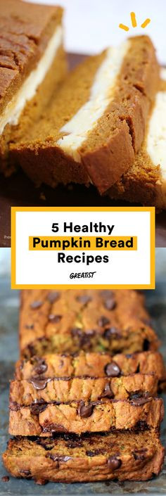 It's not fall until you've baked everyone's favorite gourd into a satisfying loaf. #greatist http://greatist.com/eat/pumpkin-bread-recipes-fall