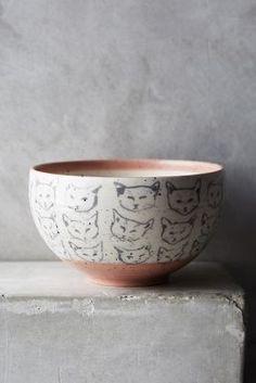 kitty bowl via Anthro