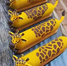 Who else loves giraffe Eclairs? Wedding Day Wedding Planner Your Big Day Weddings Wedding Dresses Wedding bells Eclairs, Profiteroles, Patisserie Fine, Breakfast Pictures, Giraffe Cakes, Eclair Recipe, Small Desserts, Choux Pastry, Baking And Pastry