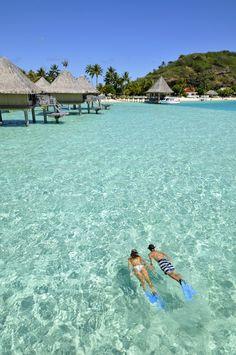 Bora Bora (Polinesia) - InterContinental Le Moana Resort  http://on.fb.me/1289WGX