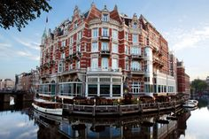 The Hotel De L'Europe. Photo courtesy of Hotel De L'Europe, Amsterdam l Architectural Digest