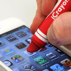thumbsUp!: iCrayon Stylus Red