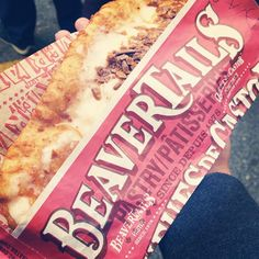 The Avalanche BeaverTails pastry...cream cheese icing with Skor and caramel - need we say more? Instagram photo by @iam_bianx (iam_bianx)