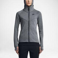 Sweat à capuche entièrement zippé Nike Sportswear Tech Fleece pour Femme  Full Zip Hoodie db9ed67980f