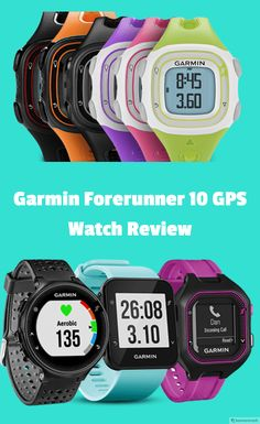 If you don't want to put a lot of dollars behind your Garmin running watch then Garmin Forerunner 10 GPS Watch would be the perfect match for you.