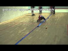 Children s Physical Activity: Jump over Theraband Sideways Physical Activity for Young Children - YouTube