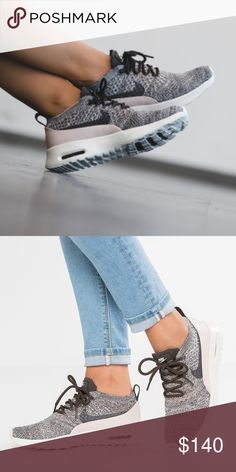 Nike Air Max Thea Ultra Flyknit women's sneakers •Brand new •Authentic •Box not included •Please check out my listings for more Air Max Roshe and Running shoes  •Color could be different depending of your screen brightness Nike Shoes Sneakers