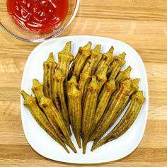 Cajun Baked Okra is the perfect side dish for any meal! Packed with Cajun seasonings, crispy, and easy to make. Healthy alternative to fried okra!