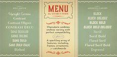 Fonts - Charcuterie by Laura Worthington - HypeForType Font Shop