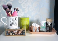 5 useful beauty storage tips and tricks for a tidier bedroom Storage Hacks, Beauty Review, British Style, My Room, Organization, Creative, Tips, How To Make, Inspiration