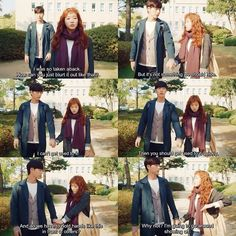 Cheese In the Trap. These two are so adorable and they felt real. This drama was amazing