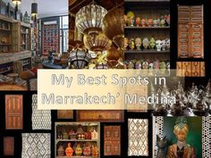 My Best Spots in Marrakech. Part 1, The Medina. I love starting my visits to the Medina of Marrakech in the area of the Palais of the Bahia, Place des Ferblantiers and the Mellah (the Jewish quarter). Here we may find a bit of everything…