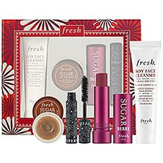 this is totally what i need in my life right now! especially the lip scrub for the dry lip season...  Fresh - Sugar Berry Merriment Set  #sephora