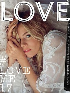 Sienna Miller captured by Kendall Jenner, wearing the new Burberry February collection exclusively for LOVE Magazine.