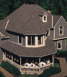 Best Houses With Green Shingle Roofs Certainteed Brand 400 x 300