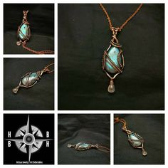 Aaa Grade Peacock Blue Enhances Psychic Abilities Stone of Protection and Magic Labadorite Wire-wrapped Pendant Boho Healing Crystal