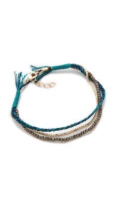 Shashi Maya Gemstone Bead Bracelet