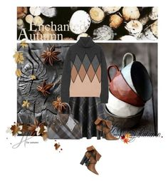 """Enchanted autumn"" by noconfessions ❤ liked on Polyvore featuring Chicwish, Prada, Barbara Bui, Vivienne Westwood, argyle and plaidskirt"