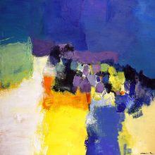 'June 2010  2', 2010 by Hiroshi Matsumoto's - Painting Oil