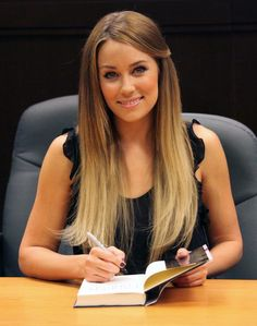 lauren conrad hair!! Beautiful!!!