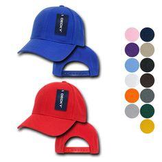f570ebb2 1 Dozen Decky Pro Style Kids Youth Baseball Acrylic Snapback Blank Hats Caps.  Solid Colors ...