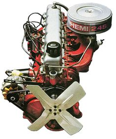 Hemi 245 Six Cylinder Engine