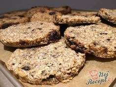 Zdravá svačina - banánovo kokosové cookies BEZ CUKRU a BEZ VAJÍČKA