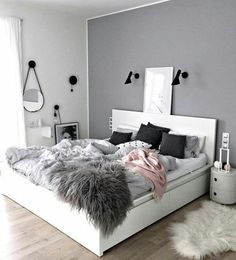 Imagem de bedroom, room, and home
