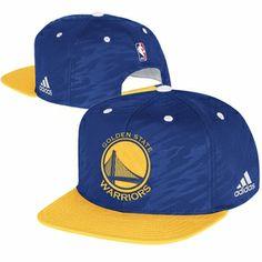 25fa4465dd3 Golden State Warriors adidas On-Court Snapback Cap - Royal Gold Nba Hats
