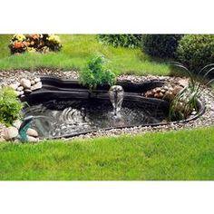 teich neugestaltung / fertigteich neu anlegen / teichanlage, Garten Ideen