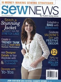 Sew News (1-year auto-renewal) Magazine Subscription Creative Crafts Group, LLC, http://www.amazon.com/dp/B002PXVZF4/ref=cm_sw_r_pi_dp_2a6vqb0JDR51R