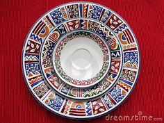 Plates by Claudia Fernandes, via Dreamstime